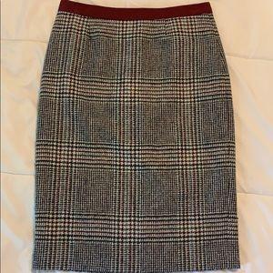 Boden Frey's Wool Pencil Skirt - EUC